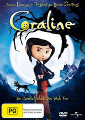 Coraline - Movie DVD [REGION 4]