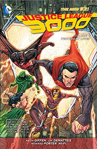 Justice League 3000 - Vol 001 Yesterday Lives TP