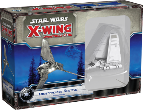 Star Wars - X-Wing Miniatures Game Lambda-Class Shuttle Expansion Pack