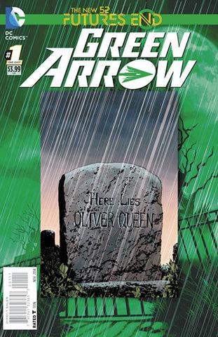 Green Arrow - Furtures End Comic Issue #1 LENTICULAR COVER