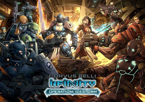 Infinity Operation: Icestorm - PanOceania vs Nomads