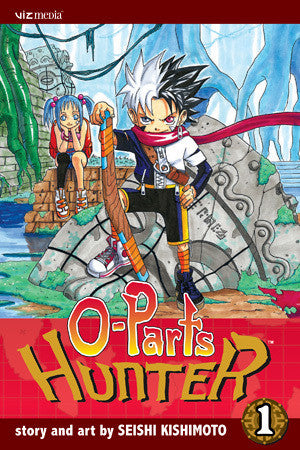 O-Parts Hunter - Manga Vol 001