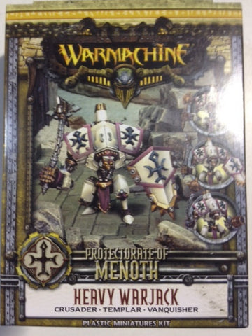 Warmachine - Protectorate of Menoth Heavy Plastic Warjack Kit (Crusader, Templar, or Vanquisher)