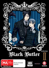 Black Butler - Anime Season 1 Collection 2 DVD [REGION 4]