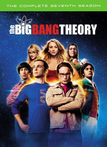 Big Bang Theory, The - Complete Seventh Season DVD + UV [REGION 4]