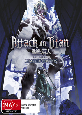 Attack on Titan  - Anime Collection 2 Blu-Ray LIMITED EDITION [REGION 4]