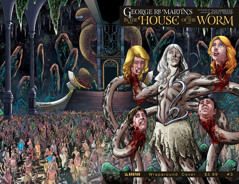 George RR Martin's In the House of the Worm - Comic Issue #3 Wrap Around Cover