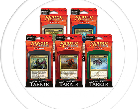 Magic the Gathering - Khans of Tarkir Intro Pack