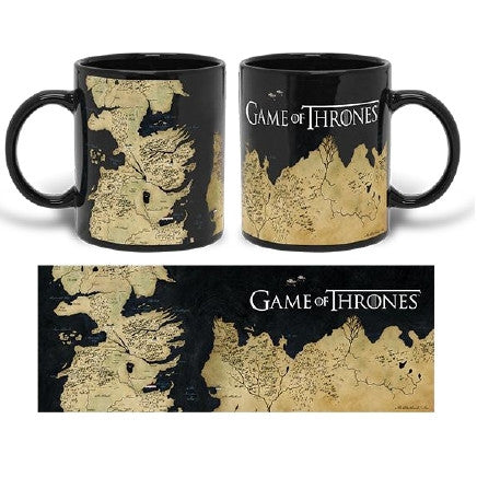 Game Of Thrones - Map Coffee Mug
