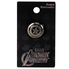 Captain America - Captain America Shield Pewter Lapel Pin