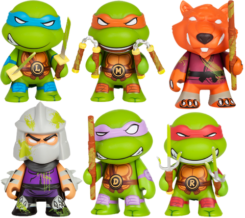 Teenage Mutant Ninja Turtles - Ooze action Glow in the Dark Series - Leonardo