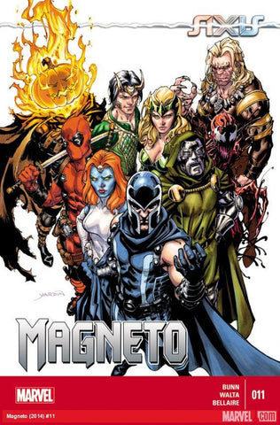 Magneto - Issue #11 Axis