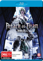Attack on Titan  - Anime Collection 2 Blu-Ray [REGION 4]