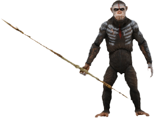 "Dawn of the Planet of the Apes - 7"" Series 1 Caesar Figure"