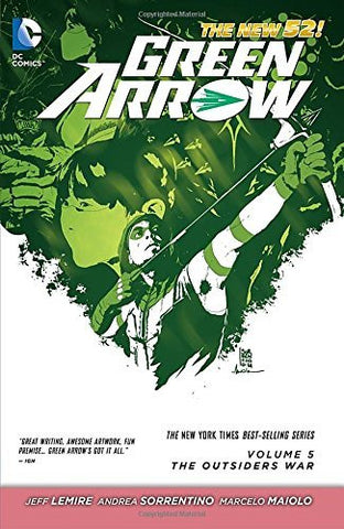 Green Arrow - Vol 5 The Outsiders War N52 TP