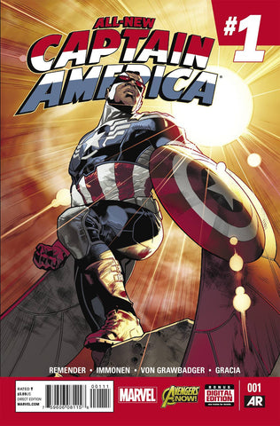 Captain America - All New Captain America Issue #1