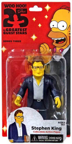 "Simpsons, The - 25th Anniversary 5"" Series 3 - Stephen King Figure"