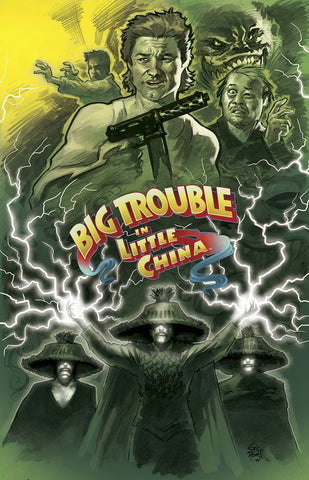 Big Trouble in Little China - Issue #4
