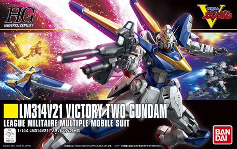 Mobile Suit Gundam - 1/144 HGUC V2 Victory Two Gundam Model kit