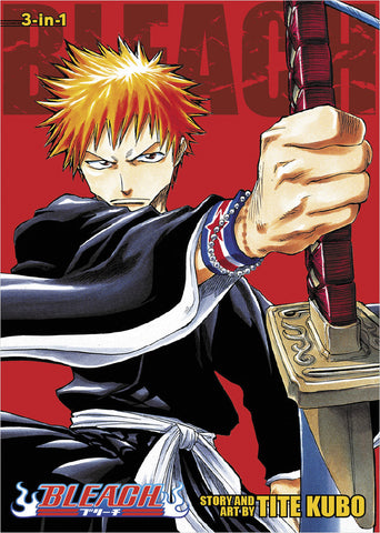 Bleach - Manga 3-in-1 Vol 001 (001-003)