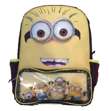 Despicable Me - Minion Two Eye Face Backpack