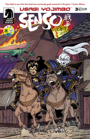 Usagi Yojimbo - Senso Issue #3 ( OF 6 )