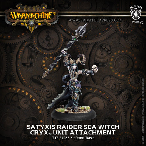 Warmachine - Cryx: Satyxis Raider Sea Witch Unit Attachment