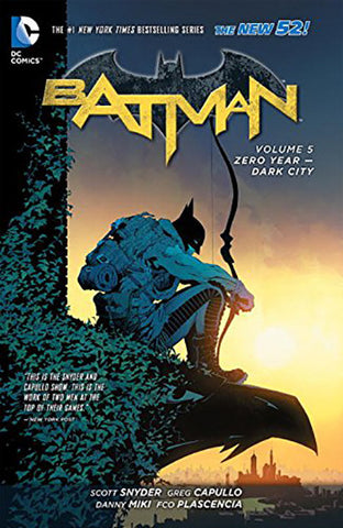 Batman - New 52 Vol 005 Zero Year Dark City HC