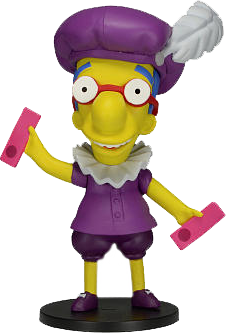 "Simpsons, The - 25th Anniversary 5"" Series 3 - Milhouse Van Houten Figure"