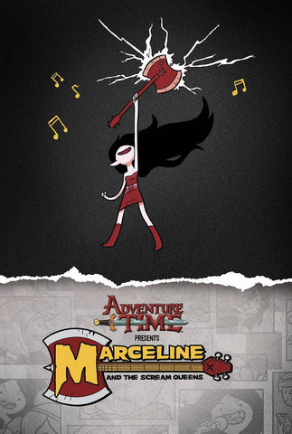 Adventure Time - Maceline and the Scream Queens Mathmatical Edition HC