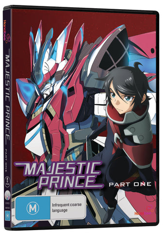 Majestic Prince - Anime DVD [Region 4]