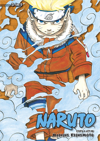 Naruto - Manga 3-in-1 Vol 001 (Volumes 1, 2, 3)