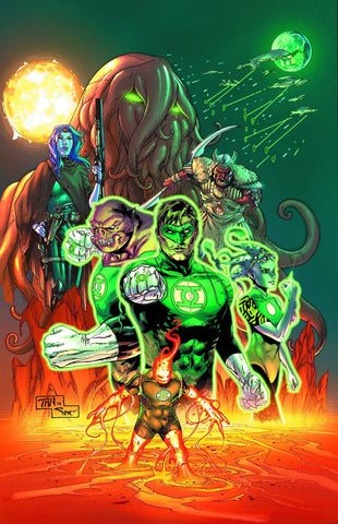 Green Lantern - Test Of Wills VOL 5 N52 HC