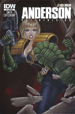 Judge Dredd - Anderson PSI Division Issue #3 SUB VARIANT