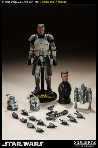 "Star Wars - Clone Commander Wolffe 12"" Figure"