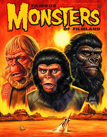 Famous Monsters of Filmland - Planet of the Apes #275