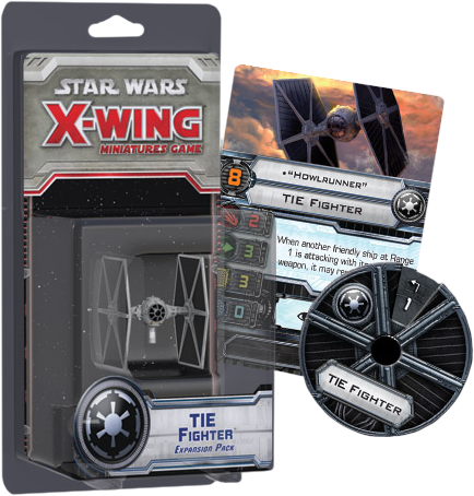 Star Wars - X-Wing Miniatures Game Tie Fighter Expansion Pack