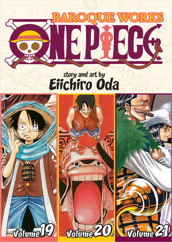 One Piece - Manga 3-in-1 Vol 007 (Volumes 19, 20, 21)