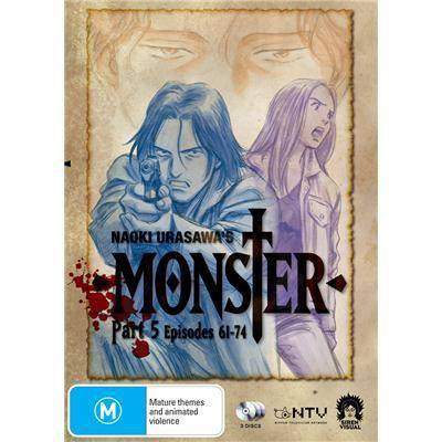 Monster - Anime Part 5 DVD [REGION 4]