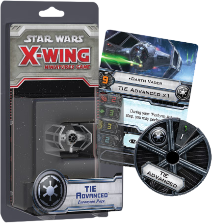 Star Wars - X-Wing Miniatures Game Tie Advanced Expansion Pack