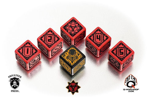 Warmachine - Khador Faction Dice