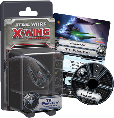 Star Wars - X-Wing Miniatures Game  Tie Phantom Expansion Pack