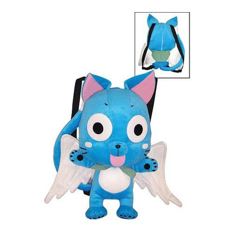 Fairy Tail - Happy Cat Plush Backpack