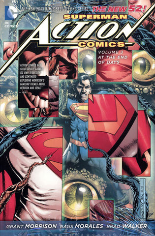 Superman Action Comics - At the End of Days VOL 3 - New 52