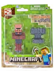 Minecraft - Blacksmith Villager Figure With Accessories