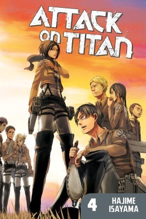 Attack on Titan - Manga Vol 004