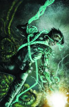 Grayson - New 52 Issue #3 MONSTER VARIANT COVER