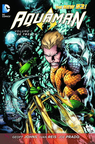 Aquaman - New 52 - Comic Book Volume 001: The Trench