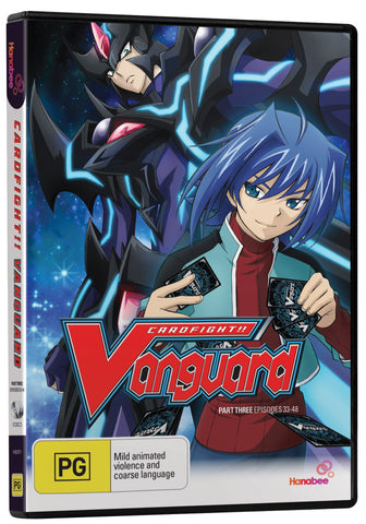 Cardfight!! Vanguard - Part Three: Episodes 33-48 DVD [Region 4]