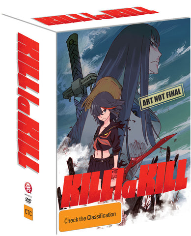 Kill La Kill - Anime Vol 01 (Eps 1-4) Limited Edition Blu-Ray [Region B]